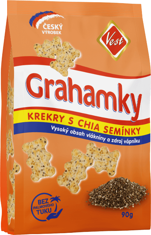 Whole-grain crackers 90 g